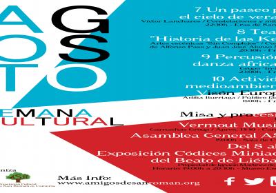 Semana Cultural de Agosto en San Román de Cameros