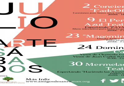Actividades en Julio en San Román de Cameros